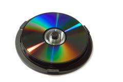 CD isolato fotografie stock libere da diritti