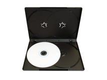 CD Kasten mit Platte Stockfoto