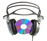 CD Kopfhörer Stockfoto