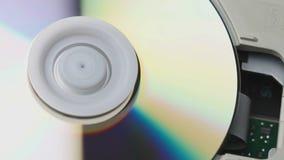 CD lezer binnen stock video