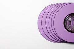 Cd lilac Royalty Free Stock Image