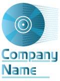 Cd logo Royalty Free Stock Photo