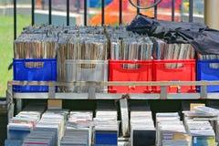 CD和LP 免版税库存照片