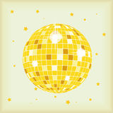 CD LP Cover Discoball Stock Photography