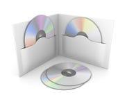 CD lub DVD Pudełko Zdjęcia Stock