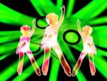 CD Lub DVD'S 5 Z Kobietami   Zdjęcie Stock