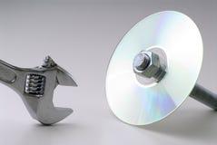 CD Mechanical Stock Photo