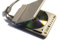 CD & MP3 Player Royalty Free Stock Image