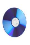 CD na białym tle - zakończenie Fotografia Royalty Free