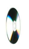 CD na białym tle - zakończenie Fotografia Stock