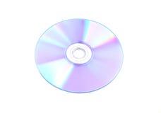 CD na białym tle Obrazy Stock