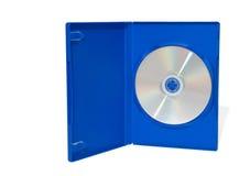 CD na caixa Fotografia de Stock Royalty Free