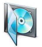 CD nel caso Immagine Stock