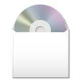 CD no caso de papel ilustração stock