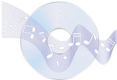 Cd notes Stock Images