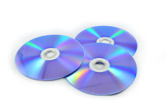 Cd o dvd Imágenes de archivo libres de regalías