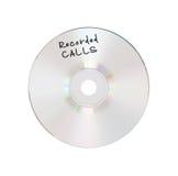 CD o DVD isolato immagini stock
