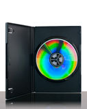CD o DVD o disco del Azul-Rayo Fotos de archivo libres de regalías