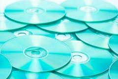 Cd o romes de DVD Foto de archivo