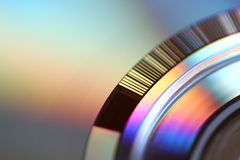 CD Oberflächenhintergrund Stockfoto