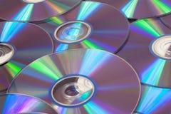 CD och DVD Arkivbild