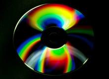 CD- och DVD-skiva royaltyfria foton