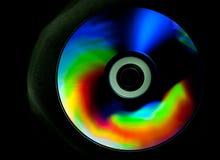 CD- och DVD-skiva royaltyfria bilder