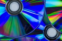CD oder Digitalschallplatte Stockfoto