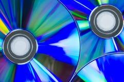 CD oder Digitalschallplatte Stockbild