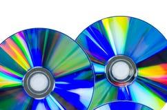 CD oder Digitalschallplatte Lizenzfreies Stockbild