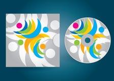 CD- oder DVD-Abdeckung Lizenzfreies Stockfoto