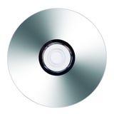 CD oder DVD auf weißem Hintergrund Lizenzfreies Stockbild