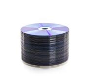 CD- oder DVD-Platte. Stockbild