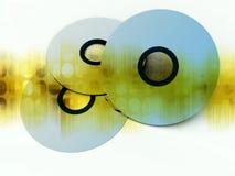 CD oder DVDS 15 Lizenzfreies Stockfoto