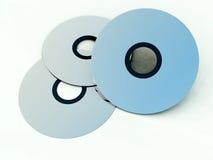 CD oder DVDS 9 Stockbild