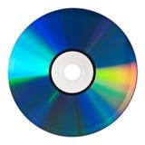 CD odizolowywający na bielu Zdjęcia Stock