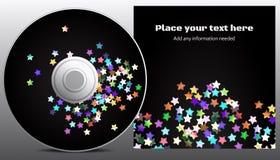 CD ontwerp Stock Foto