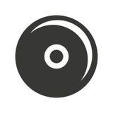 CD-ontwerp van het speler het geïsoleerde pictogram Royalty-vrije Stock Fotografie