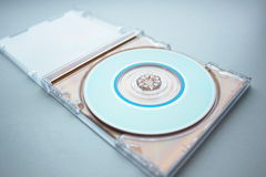 CD in the open box Royalty Free Stock Photos