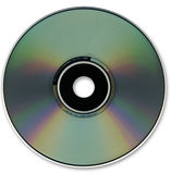 CD Optical Disc Format. Part of a selection of techology images Royalty Free Stock Photos