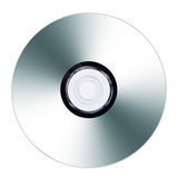 CD Or DVD On White Background Royalty Free Stock Image
