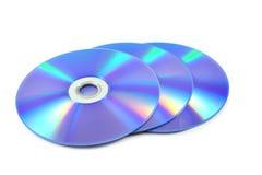 Cd ou dvd Imagens de Stock Royalty Free