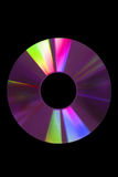 CD púrpura Fotos de archivo