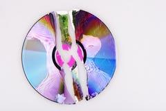 cd pękający obrazy stock