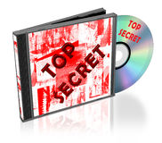 Cd pack. Isolated on white Royalty Free Stock Photo