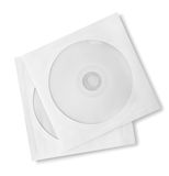 CD and paper case Royalty Free Stock Images