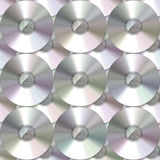 Cd pattern Royalty Free Stock Photos