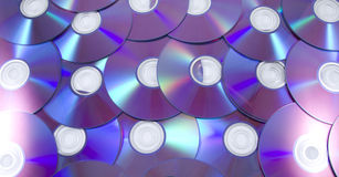 Cd pattern Royalty Free Stock Images