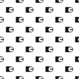 CD pattern, simple style Royalty Free Stock Image