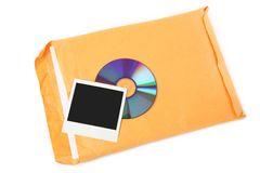 CD, Photo And Document Stock Photos